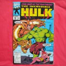 Marvel Comics Incredible Hulk Civil war in the Pantheon # 405 1993