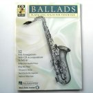 Ballads Play Along CD Tenor Saxophone Sheet Music Hal Leonard