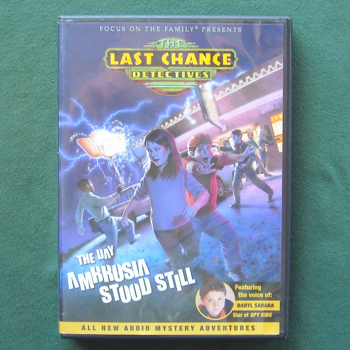 Last Chance Detectives The Day Ambrosia Stood Still Audiobook CD