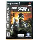 Splinter Cell Pandora Tomorrow PlayStation 2 PS2 game