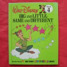 Walt Disney Fun to learn Big and Little, Same and Different Volume 4