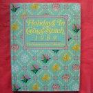 Vanessa Anns Holidays in cross stitch 1989 hardcover