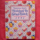 Vanessa Anns Holidays in cross stitch 1991 hardcover ISBN 0848707931