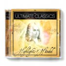 The Ultimate Classics Highlights Of Handel 2 CD Set