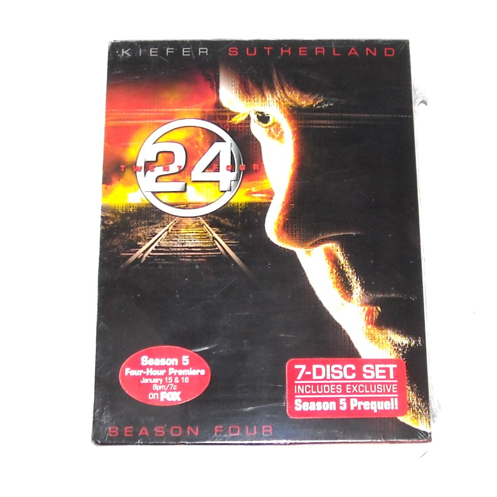 24 Season Four Widescreen Edition 7 DVD Set