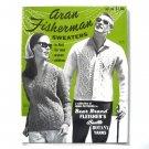 Aran Fisherman Sweaters Patterns Booklet 1964