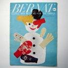 Bernat Cloves Mittens Patterns Booklet 1959