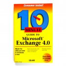 10 Minute Guide to Microsoft Exchange 4.0 1996