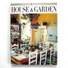 House & Garden Magazine April 1986