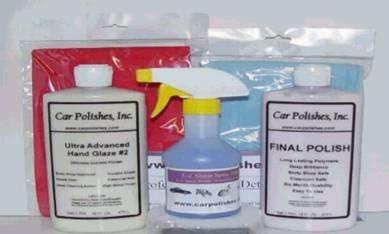 PDQ Car Polishes EZ Detail Kit