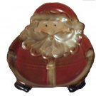 Santa Christmas Candy Dish Spoon Rest or Holiday Soap Dish