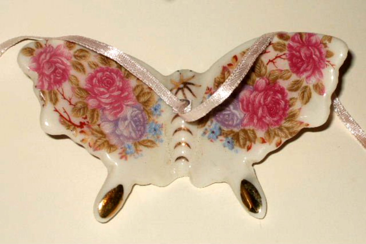 Butterfly Christmas Ornament Victoria Collection