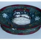 Ceramic Snowman Soap Dish