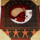 Celestial Santa Picture Plaque with Stars