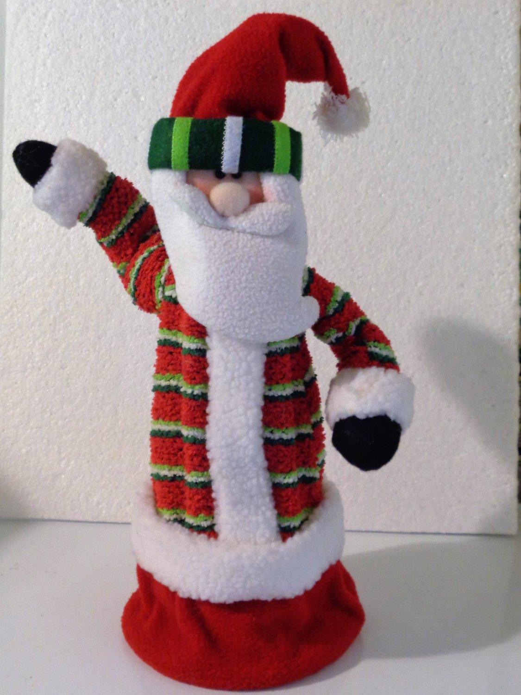 Santa Figurine Holiday Christmas Decor