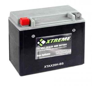 Battery Xtreme Powersports XTAX20H-BS