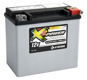 BATTERY  DurAGM Duracell X2-16L