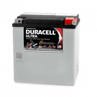 BATTERY DURAGM-30LA-US DURACELL (Xtreme 2) Harley-Polaris Made in USA-2 Yr Warr
