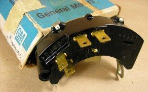 1967 68 Pontiac Firebird Bonne Temp NOS safety switch