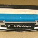 1965 Pontiac Catalina NOS front fender emblem