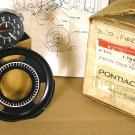 1970 75 Pontiac Lemans & Firebird Clock NOS