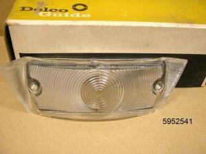 1961 62 Pontiac Tempest Chevy NOS Parking Lamp Lens LH