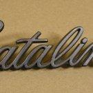1960 70 Pontiac Catalina NOS grill,  panel emblem