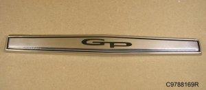 1967 Pontiac Grand Prix Front Fender Panel Emblem
