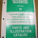 1992 93 Pontiac Grand Prix Service Manual