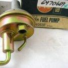 1972 Pontiac Firebird with 2bbl NOS fuel pump AC 40930
