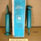1975 Pontiac Astre Spree front shock absorber pair NOS