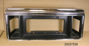 1982 1984 Pontiac 6000 limited license plate bezel NOS