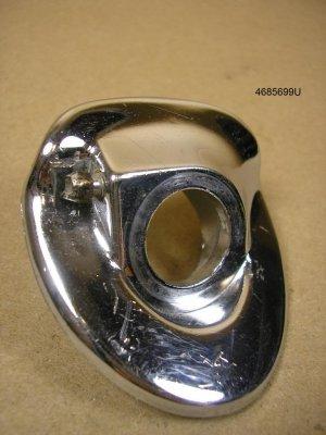 1956 Pontiac all wiper escutcheon LH used