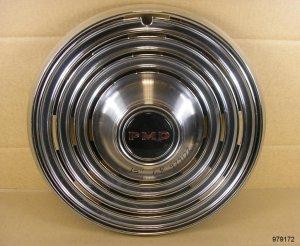 """1968 Pontiac 15"""" NOS hubcap"""