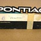 1974 Pontiac Lemans Sport NOS radiator emblem P# 494566