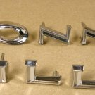 1966 Pontiac Bonneville NEW fender & door letter set