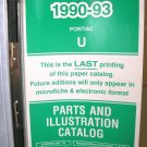 1990 91 92 93 Pontiac Trans Sport Van Service Manual