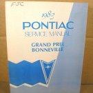 1983 Pontiac Grand Prix Bonneville Service Manual