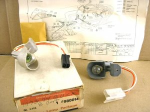 1971 74 Buick NOS courtesy lamp assembly P# 980014