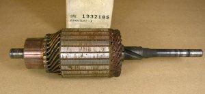 1956 63 Pontiac NOS Starter armature P# 1932185