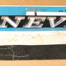 "1971 Pontiac ""Bonneville"" grille  name plate NOS"