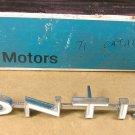 1971 Pontiac Catalina grill  name plate NOS