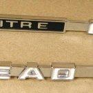 "1968 69 Pontiac Firebird "" OH Cam "" hood emblem LH"