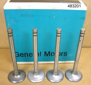 1971 72 Pontiac all NOS Intake Valve set of 4