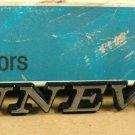 1971 72 Pontiac Bonneville front fender NOS emblem