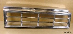 1980 81 Pontiac Phoenix 2 Dr NOS tail lamp bezel RH