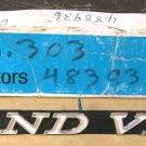 1971 Pontiac Grandville radiator grille emblem NOS