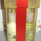 BATH & BODY WORKS 4 OZ. 2 PC COCONUT LIME VERBENA TRAVEL BATH GIFT SET