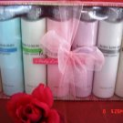 BODY LUXURIES 7 PC 7 OZ BODY LOTION'S COLLECTION