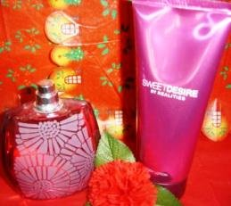 REALITIES SWEET DESIRE 2 PC WOMENS 3.4 OZ PERFUME & 6.7 OZ  LOTION SET